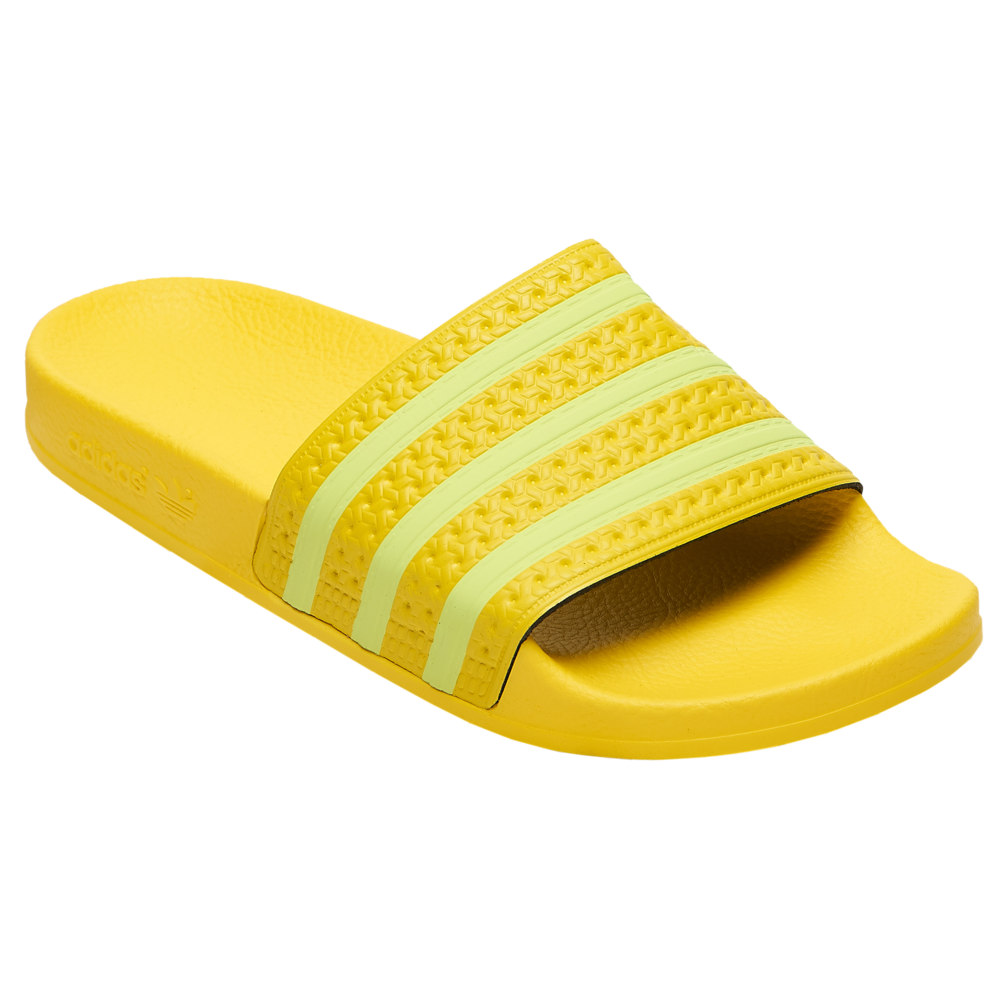 アディダス adidas レディース サンダル・ミュール シューズ・靴【Adilette Slide】Yellow/Semi Yellow/Yellow adi Color