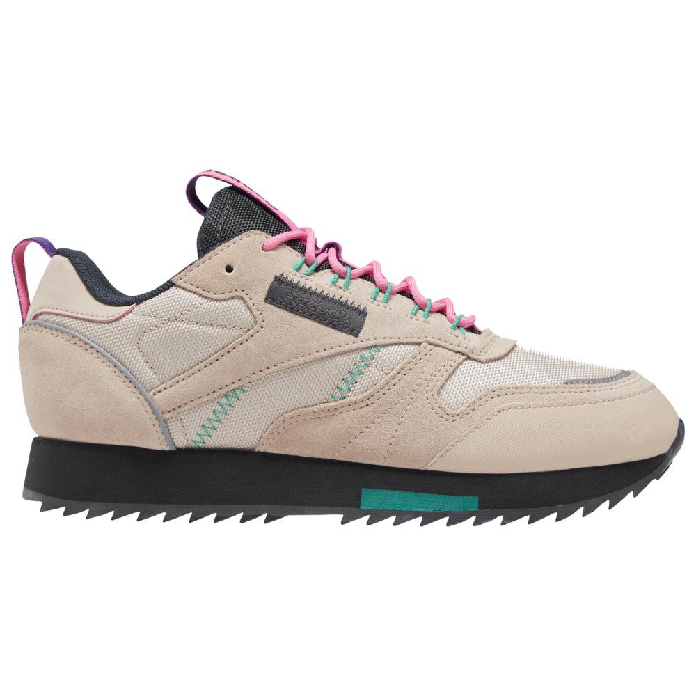 リーボック Reebok レディース ランニング・ウォーキング シューズ・靴【Classic Leather Ripple Trail】Buff/True Grey/Pantone