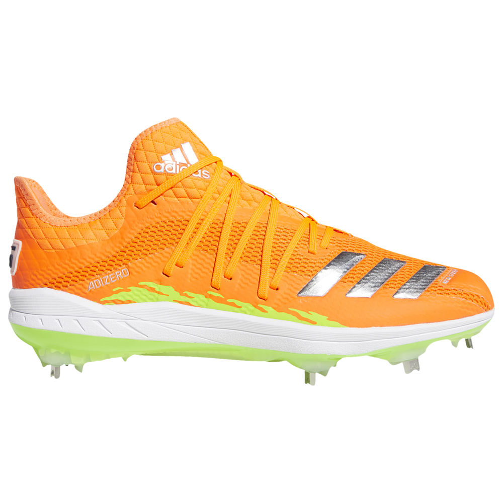 アディダス adidas メンズ 野球 シューズ・靴【adiZERO Afterburner 6 Grail Speed Trap】Solar Orange/Silver Metallic/Solar Green