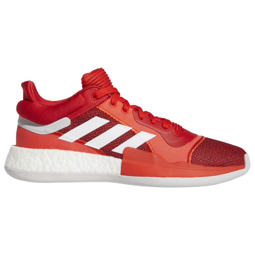 アディダス adidas メンズ バスケットボール シューズ・靴【Marquee Boost Low】Active Red/White/Scarlet