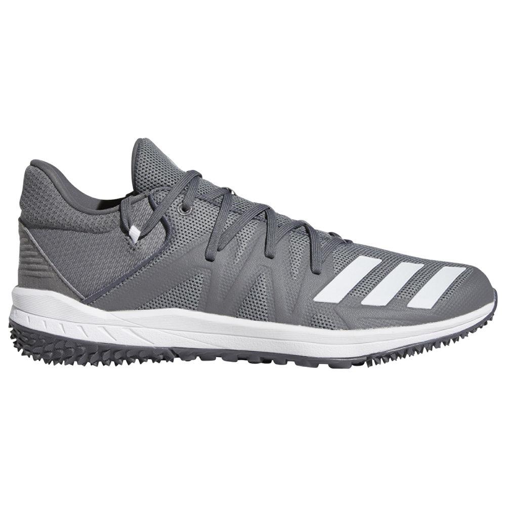 アディダス adidas メンズ 野球 シューズ・靴【Speed Turf】Grey Four/White/Grey Five