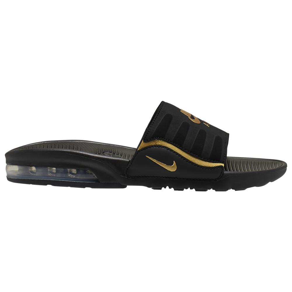 ナイキ Nike レディース サンダル・ミュール シューズ・靴【Air Max Camden Slide】Black/Metallic Gold