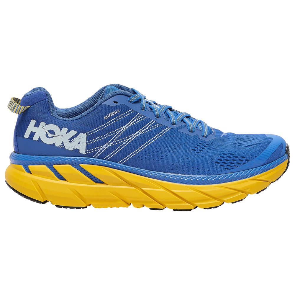 ホカ オネオネ HOKA ONE ONE メンズ ランニング・ウォーキング シューズ・靴【Clifton 6】Nebulas Blue/Lemon