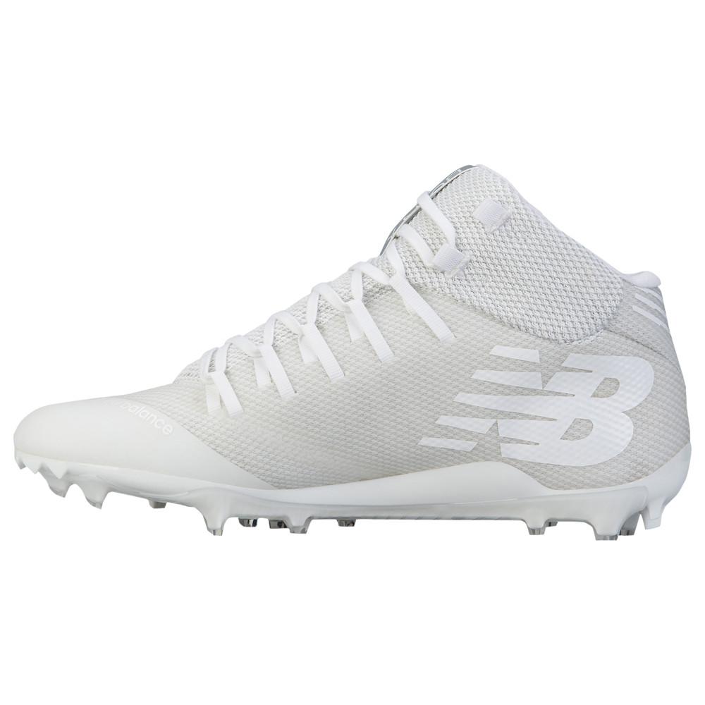 ニューバランス New Balance メンズ ラクロス シューズ・靴【Burn X MID】White