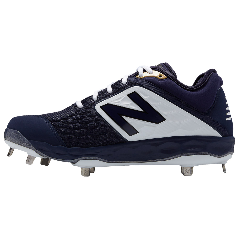 ニューバランス New Balance メンズ 野球 シューズ・靴【3000v4 Metal Low】Navy/White