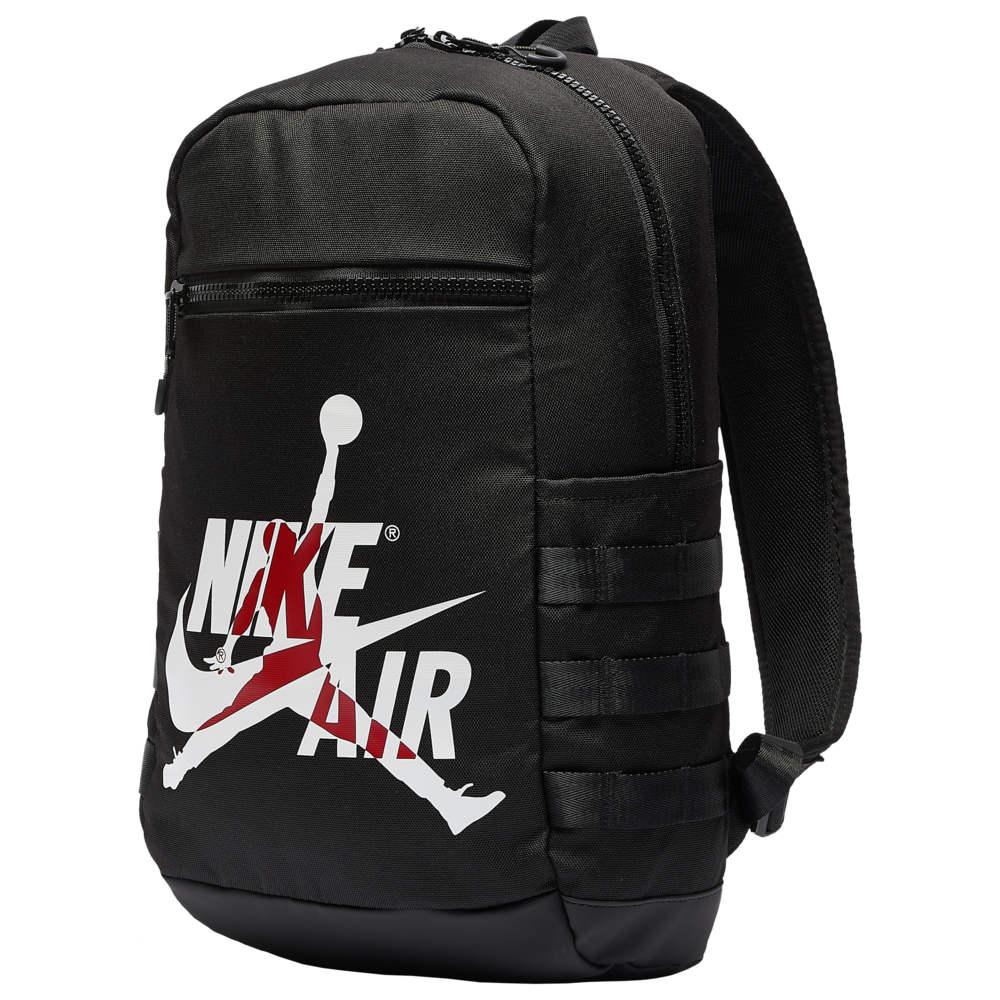 ナイキ ジョーダン Jordan ユニセックス バスケットボール ジャンプマン バックパック・リュック【Jumpman Classic Backpack】Black/White