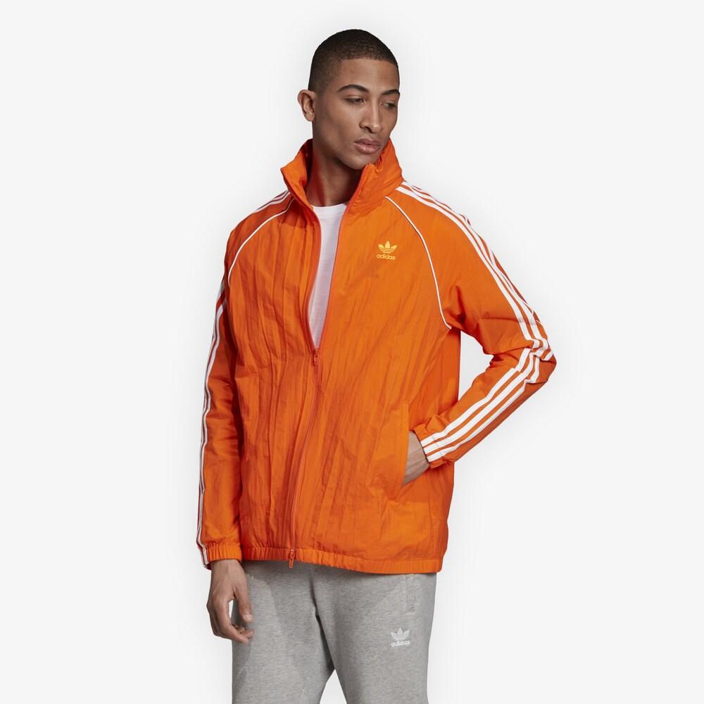 アディダス adidas Originals メンズ ジャケット ウィンドブレーカー アウター【Superstar Windbreaker】Orange