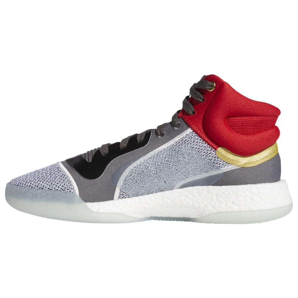 アディダス adidas メンズ バスケットボール シューズ・靴【Marquee Boost Mid】White/Silver/Grey Marvel's Thor