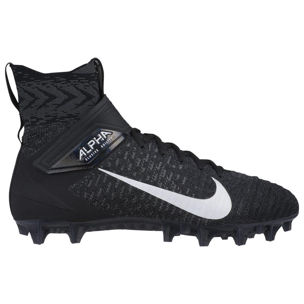 ナイキ Nike メンズ アメリカンフットボール シューズ・靴【Alpha Menace Elite 2】Black/White/Dark Grey