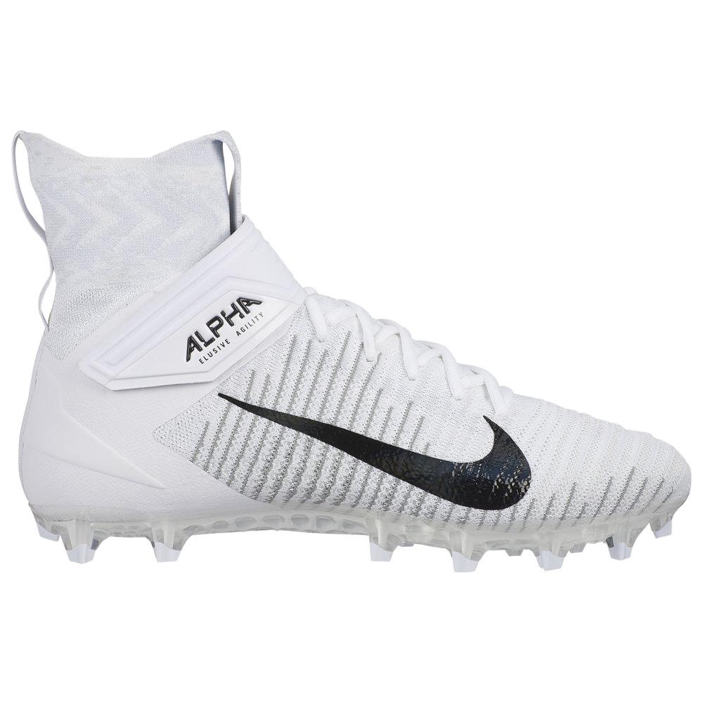 ナイキ Nike メンズ アメリカンフットボール シューズ・靴【Alpha Menace Elite 2】White/White/Wolf Grey