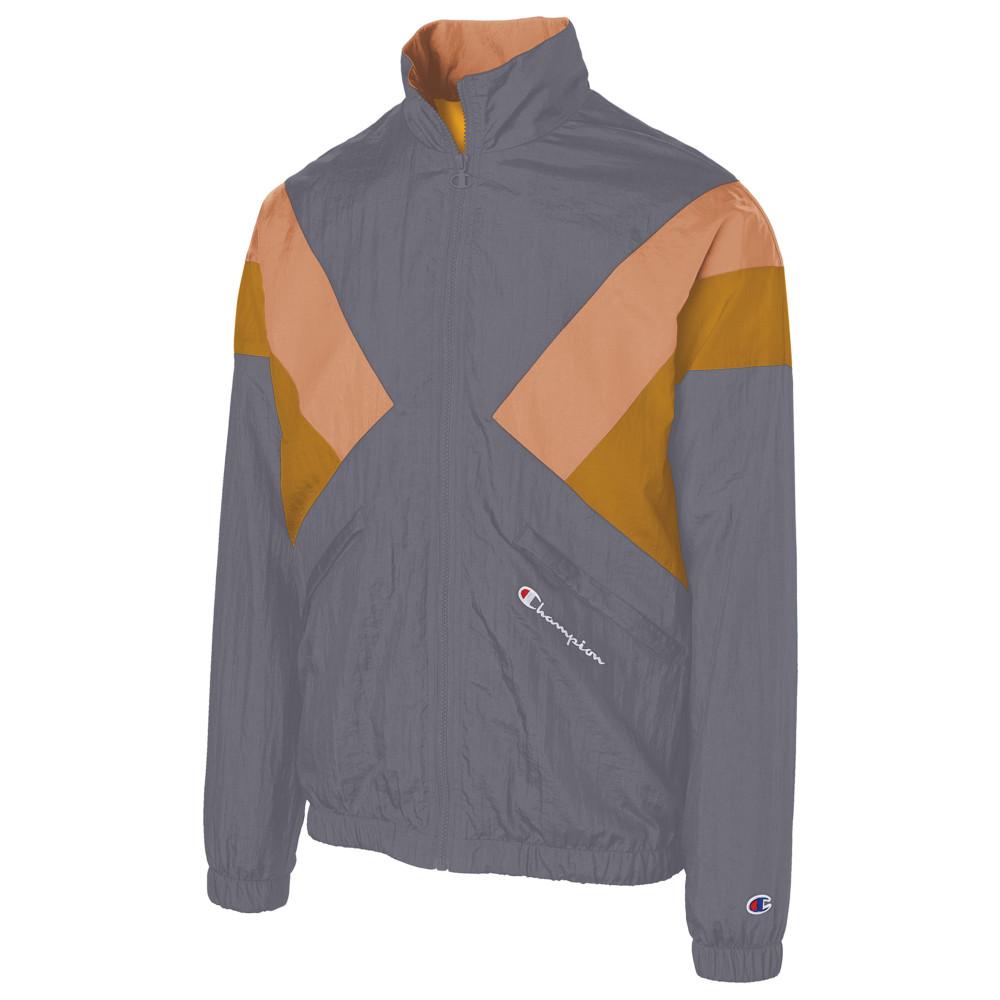 チャンピオン Champion メンズ ジャケット アウター【Warm-Up Jacket】Navy/Burnt Orange/C Gold