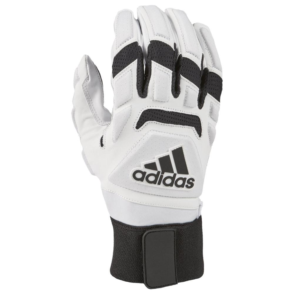 アディダス adidas メンズ アメリカンフットボール ラインマングローブ グローブ【Freak Max 2.0 Lineman Gloves】White/Black