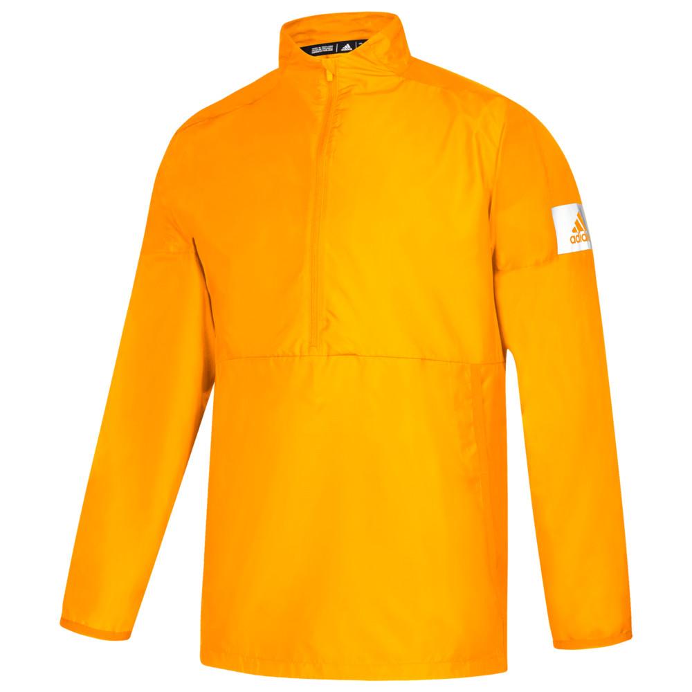 アディダス adidas メンズ フィットネス・トレーニング ジャケット アウター【Team Game Mode L/S 1/4 Zip Jacket】Collegiate Gold/White