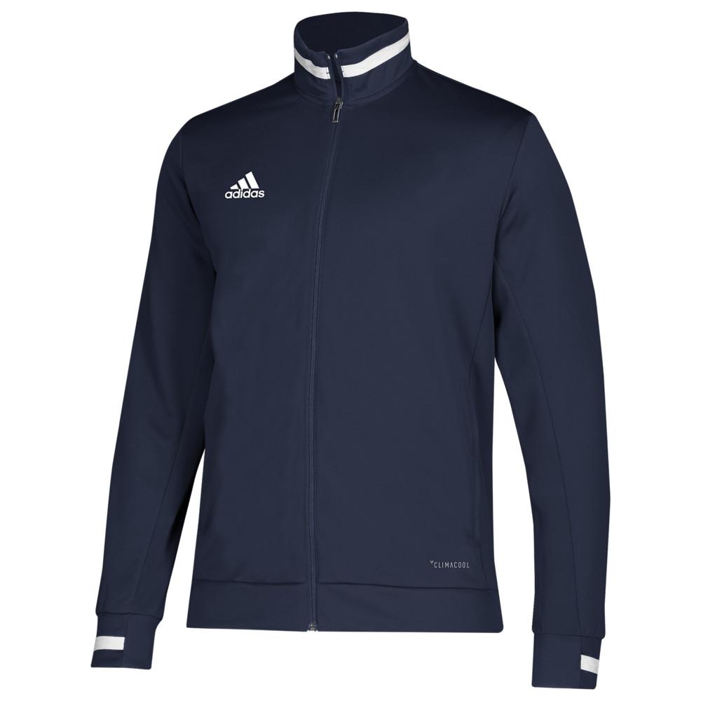 アディダス adidas メンズ フィットネス・トレーニング ジャケット ジャージ アウター【Team 19 Track Jacket】Team Navy/White