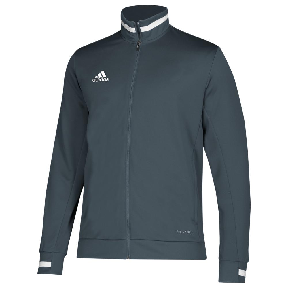 アディダス adidas メンズ フィットネス・トレーニング ジャケット ジャージ アウター【Team 19 Track Jacket】Grey/White