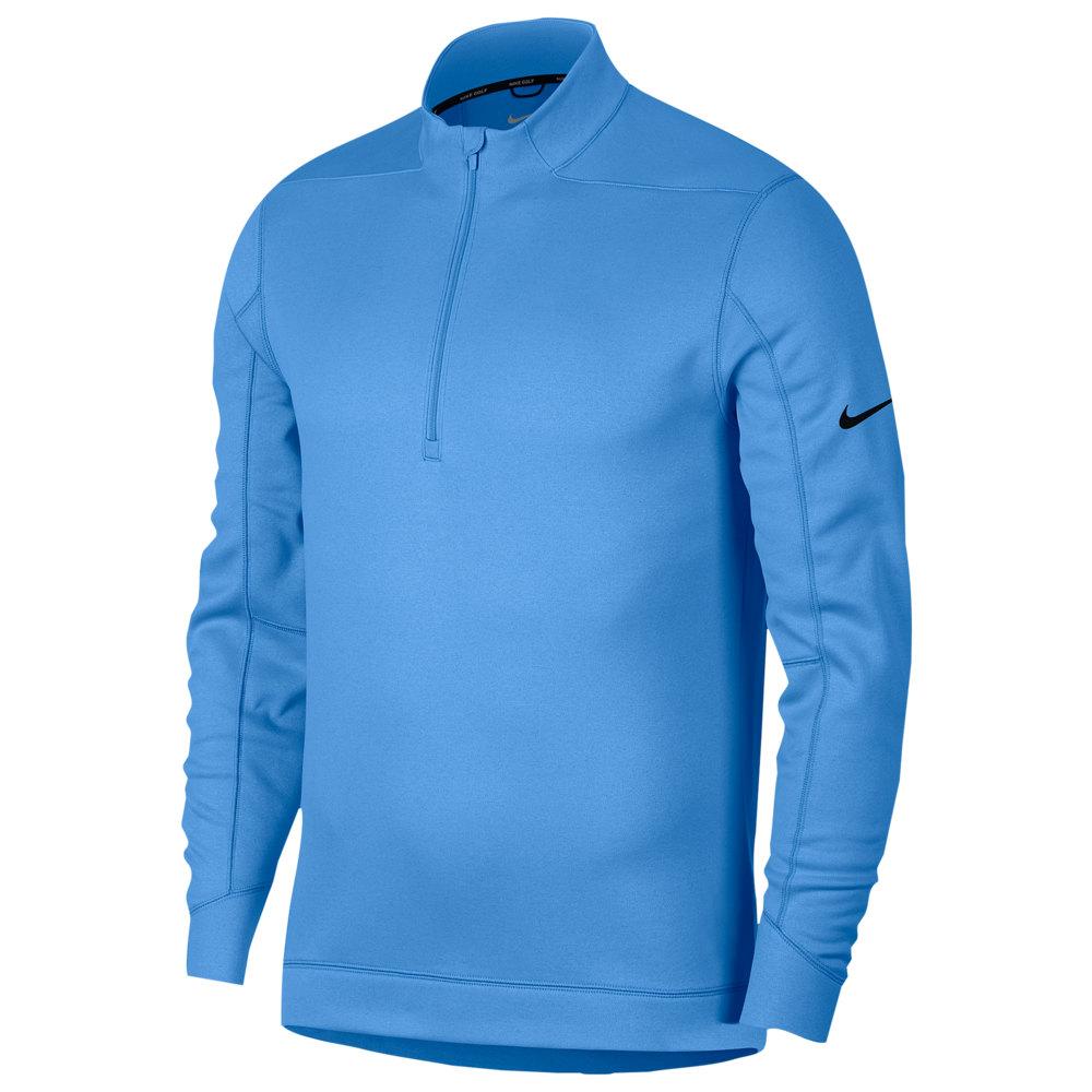 ナイキ Nike メンズ ゴルフ ハーフジップ トップス【Therma Repel 1/2 Zip Golf Top】University Blue/Black