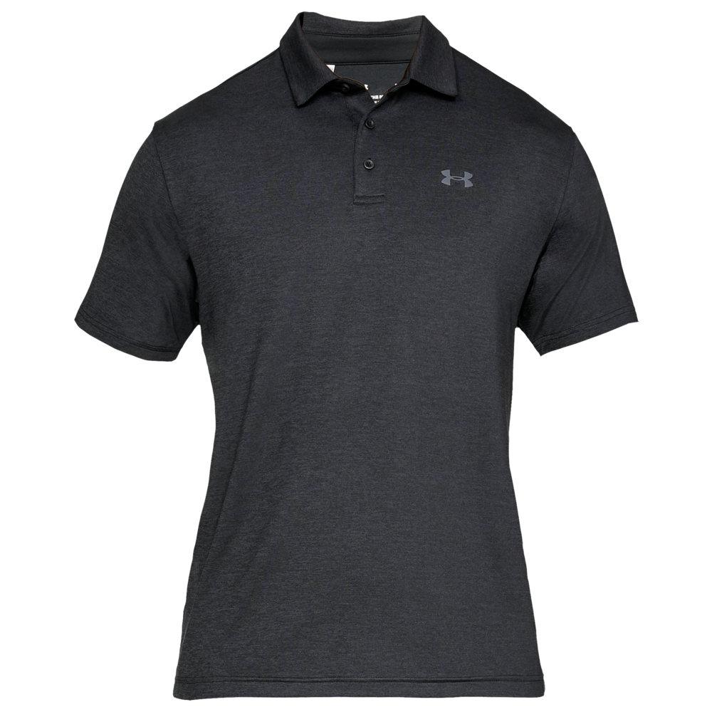 アンダーアーマー Under Armour メンズ ゴルフ ポロシャツ トップス【Playoff Golf Polo 2.0】Black/Pitch Gray
