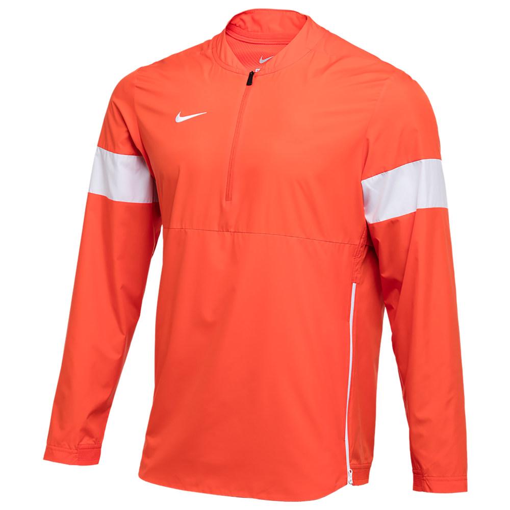 ナイキ Nike メンズ フィットネス・トレーニング コーチジャケット アウター【Team Authentic Lightweight Coaches Jacket】Team Orange/White/White