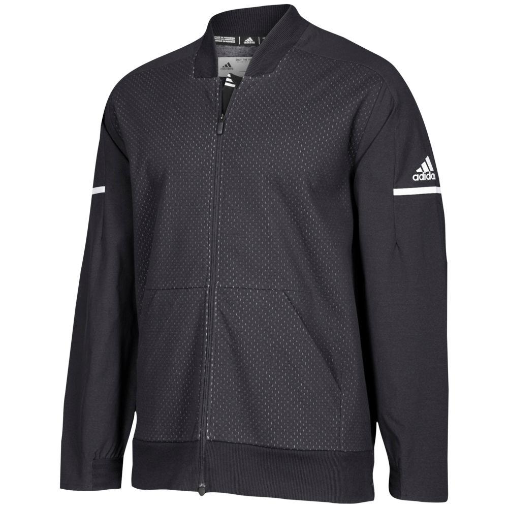 アディダス adidas メンズ フィットネス・トレーニング アウター【Team Squad Bomber】Black/White