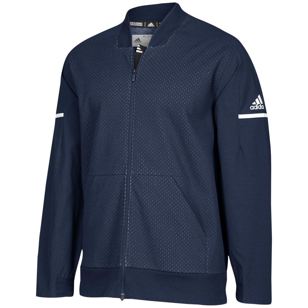 アディダス adidas メンズ フィットネス・トレーニング アウター【Team Squad Bomber】Collegiate Navy/White
