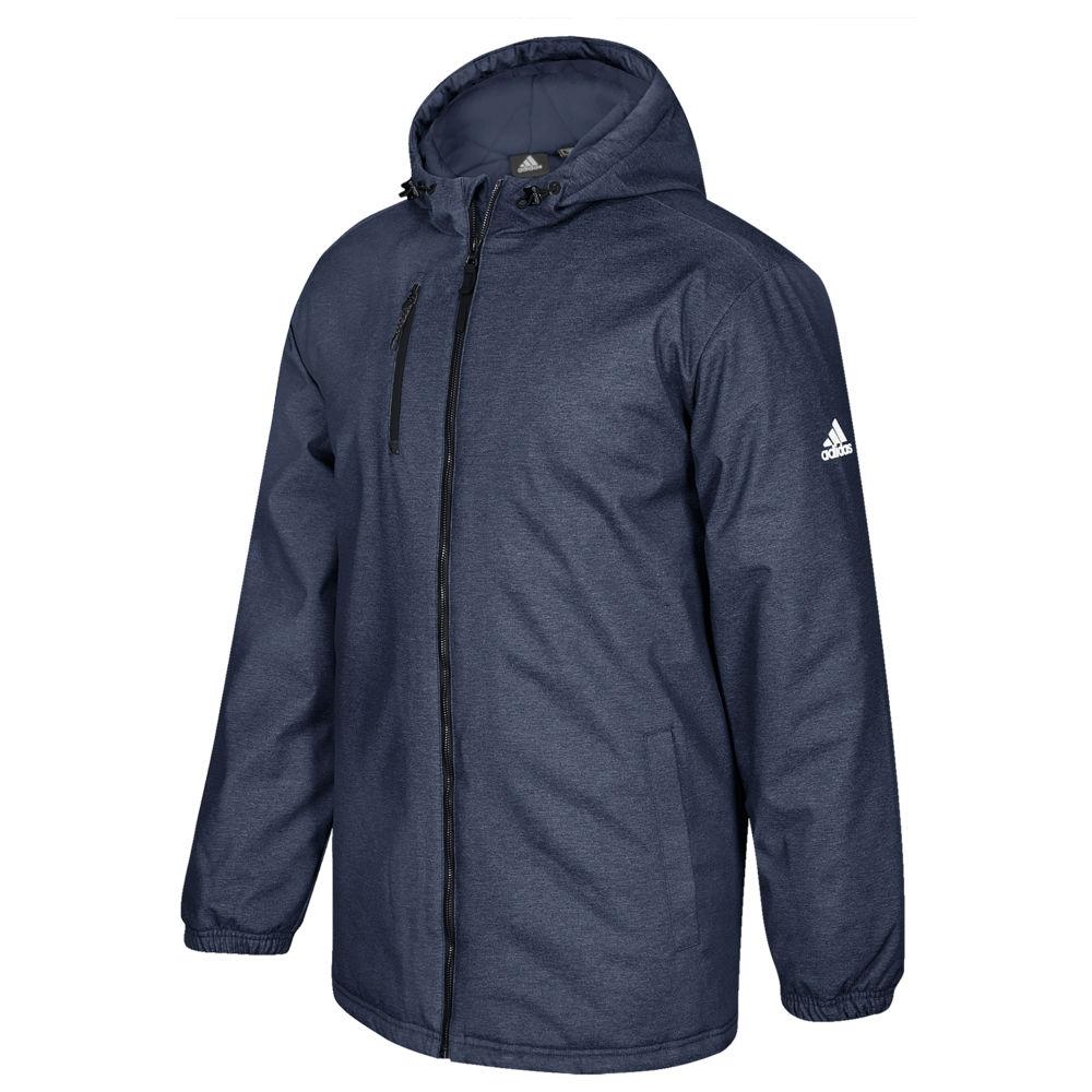 アディダス adidas メンズ フィットネス・トレーニング ジャケット アウター【Team Game Built Heavyweight Jacket】Collegiate Navy Non-Solid