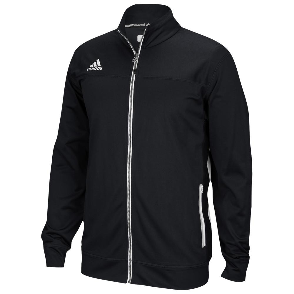 アディダス adidas メンズ フィットネス・トレーニング ジャケット アウター【Team Utility Jacket】Black/White
