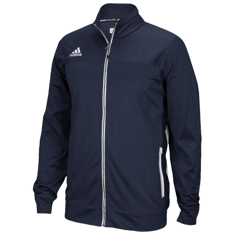 アディダス adidas メンズ フィットネス・トレーニング ジャケット アウター【Team Utility Jacket】College Navy/White