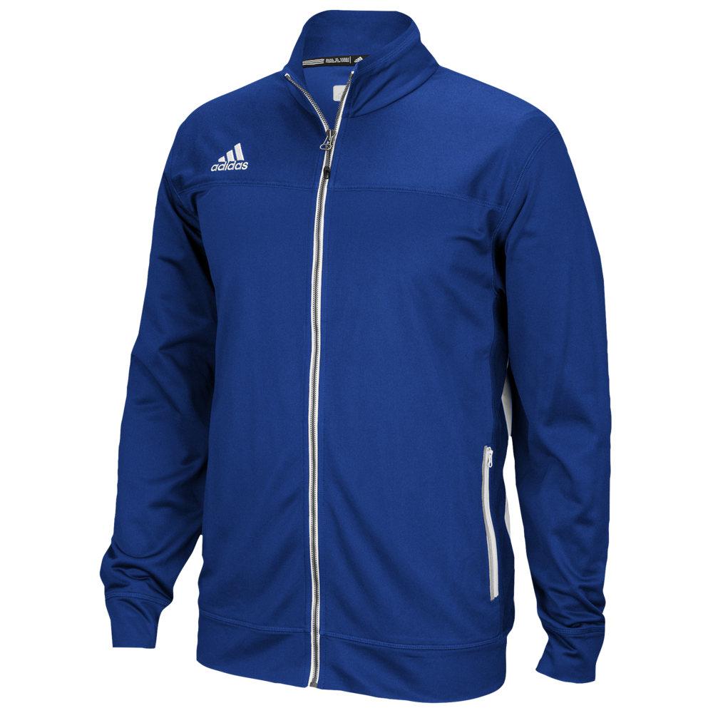 アディダス adidas メンズ フィットネス・トレーニング ジャケット アウター【Team Utility Jacket】College Royal/White