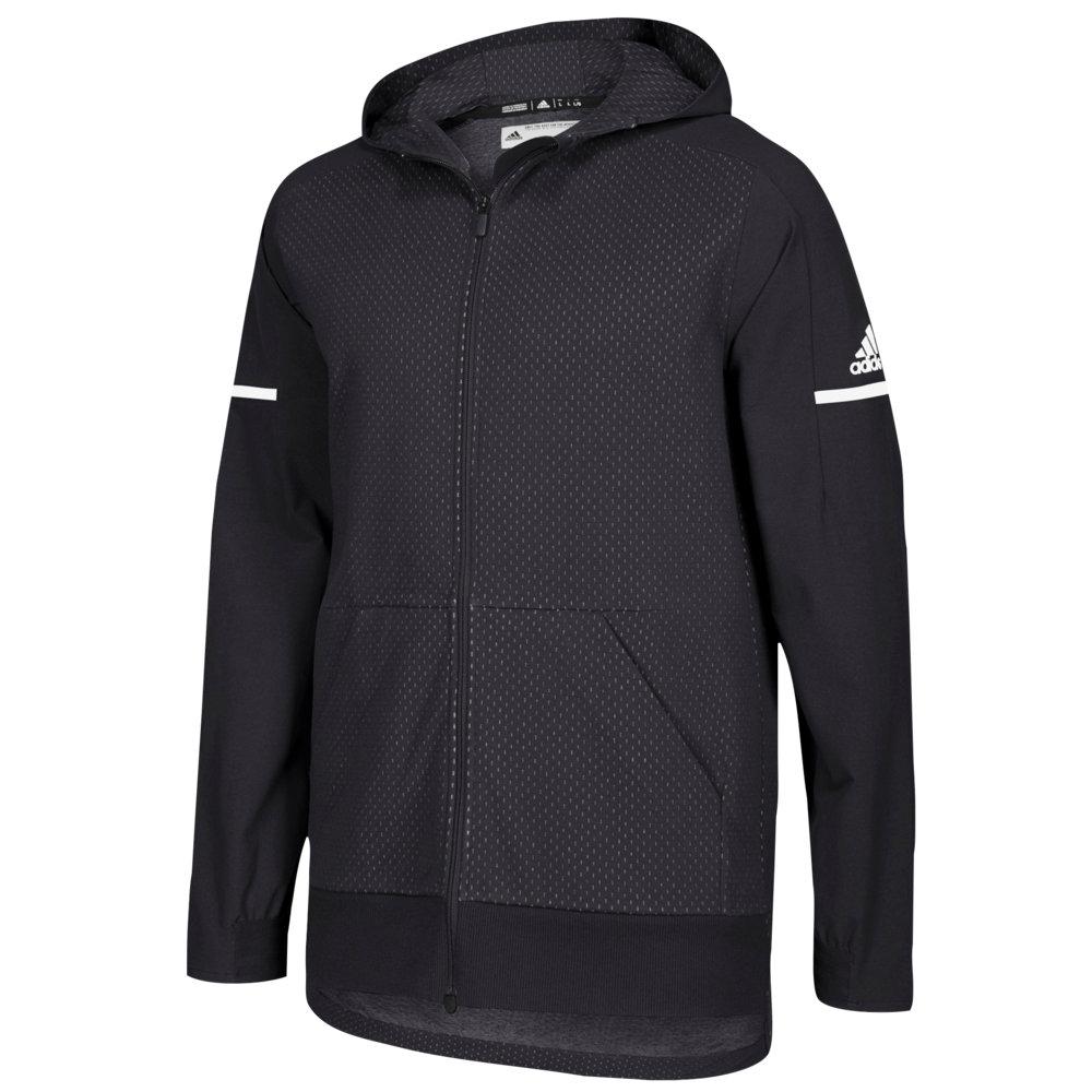 アディダス adidas メンズ フィットネス・トレーニング ジャケット アウター【Team Squad Jacket】Black/White