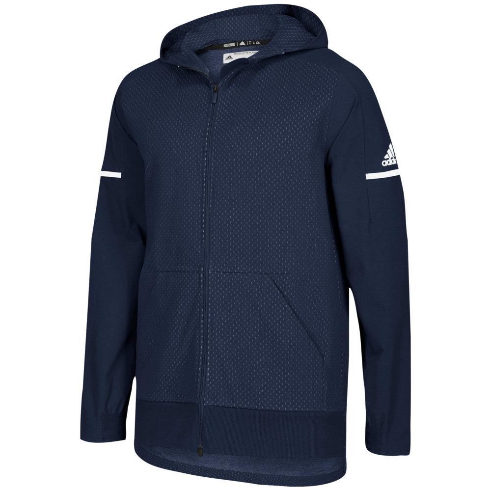アディダス adidas メンズ フィットネス・トレーニング ジャケット アウター【Team Squad Jacket】Collegiate Navy/White