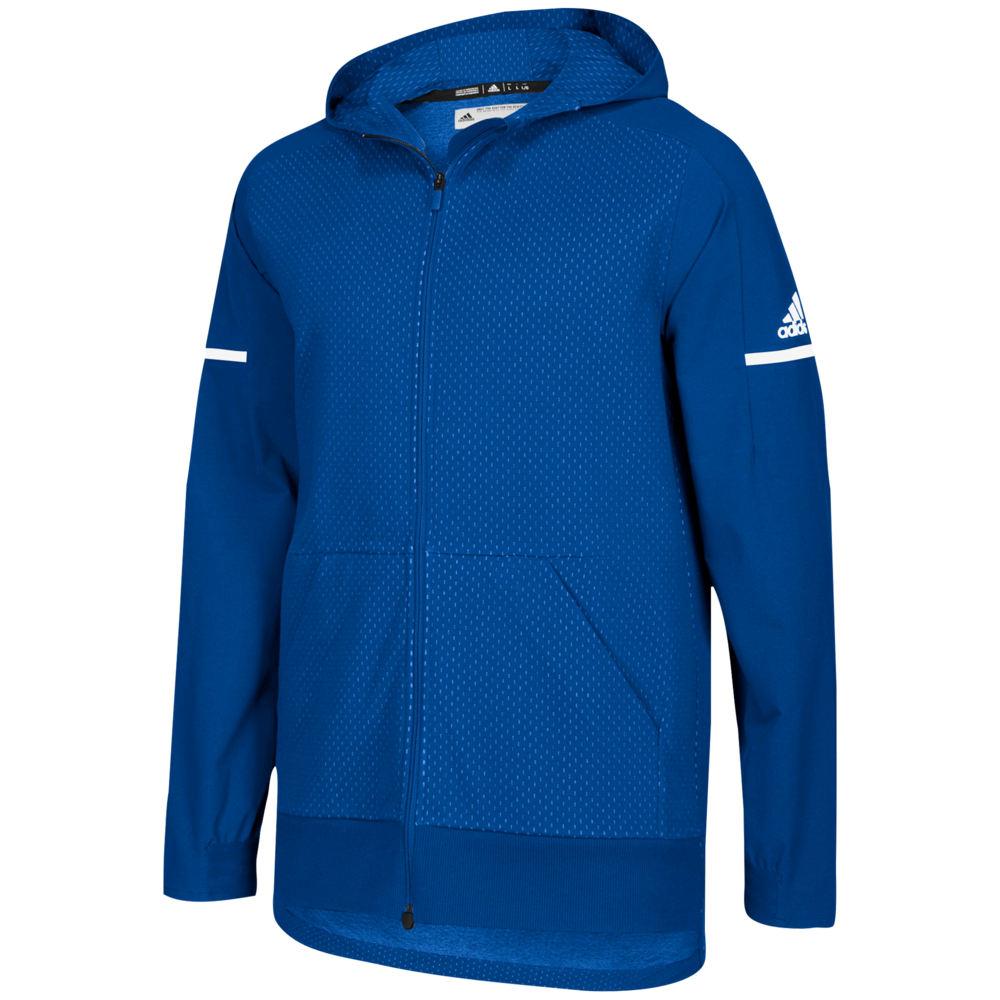 アディダス adidas メンズ フィットネス・トレーニング ジャケット アウター【Team Squad Jacket】Collegiate Royal/White