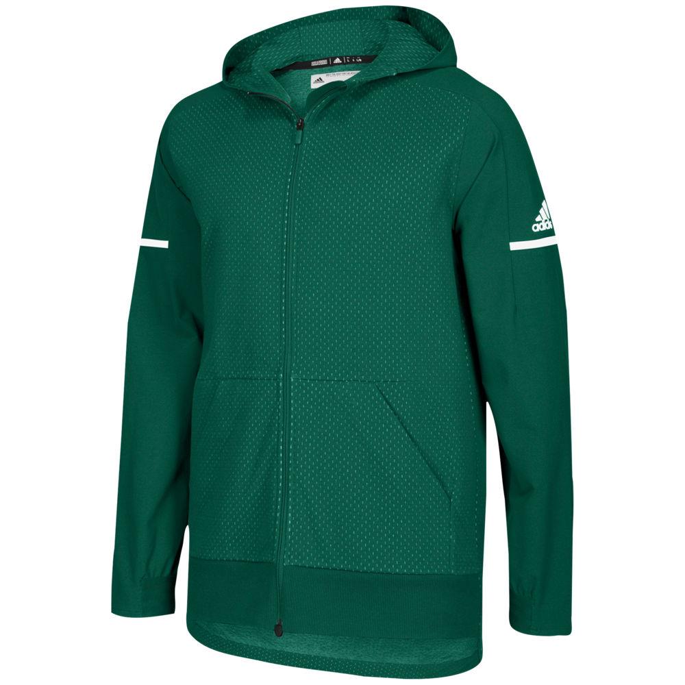 アディダス adidas メンズ フィットネス・トレーニング ジャケット アウター【Team Squad Jacket】Dark Green/White