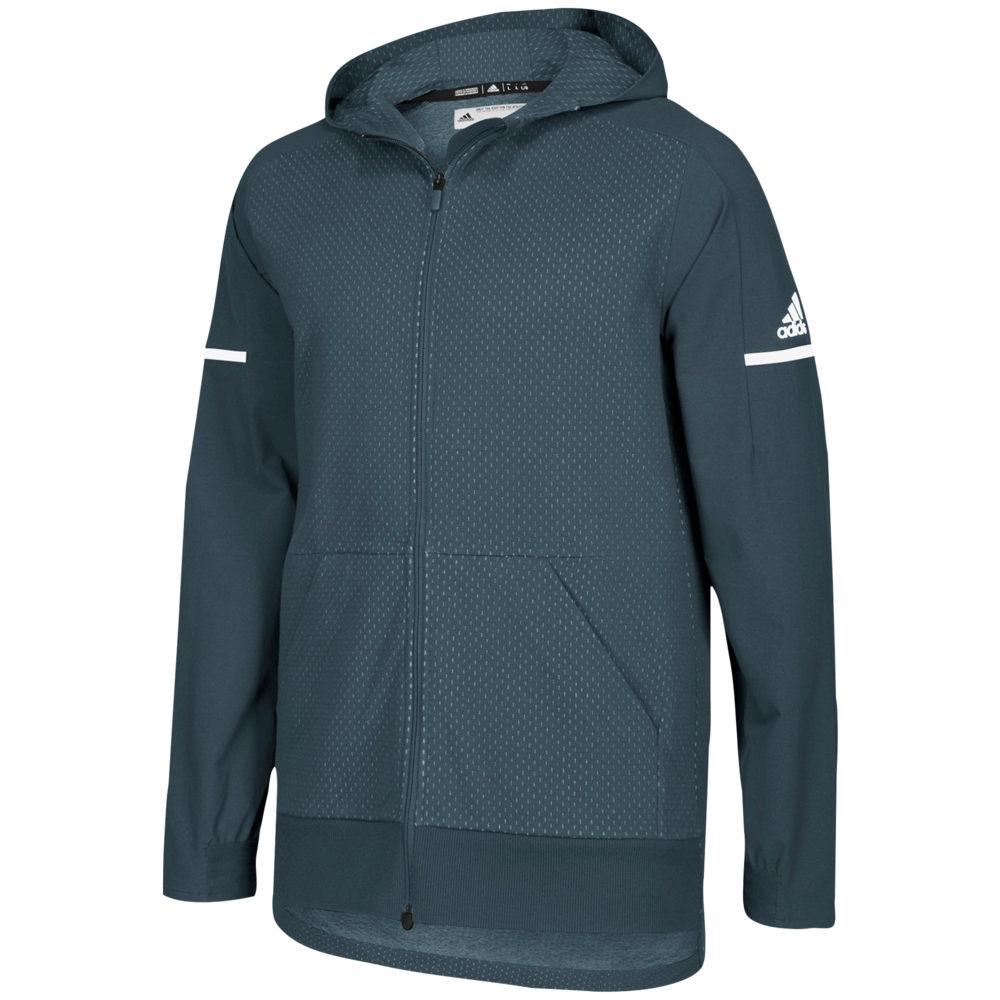 アディダス adidas メンズ フィットネス・トレーニング ジャケット アウター【Team Squad Jacket】Onix/White