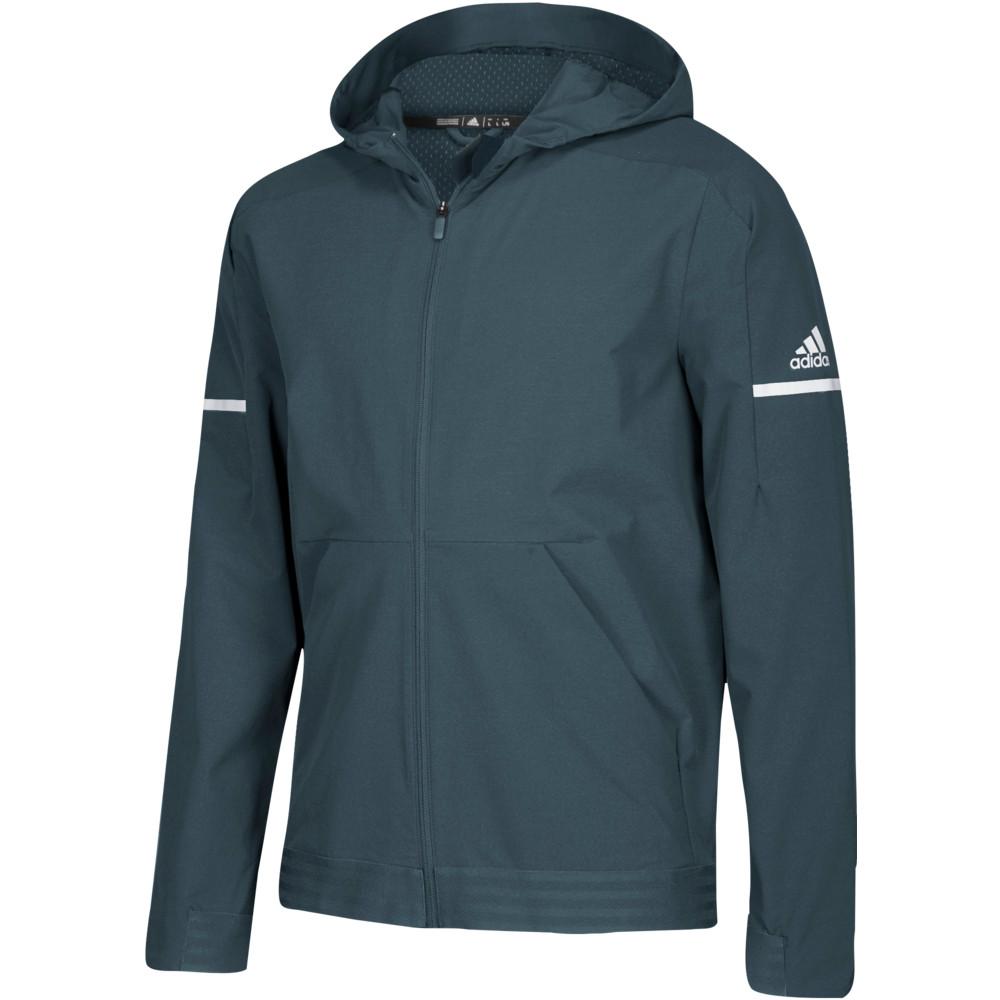 アディダス adidas メンズ フィットネス・トレーニング ジャケット アウター【Team Squad Woven Jacket】Onix/White