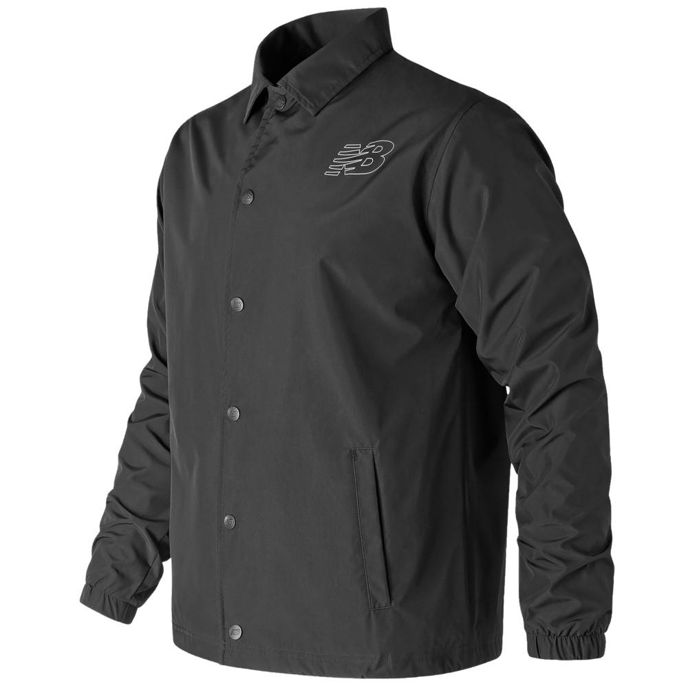 ニューバランス New Balance メンズ ジャケット コーチジャケット アウター【Classic Coaches Jacket】Black
