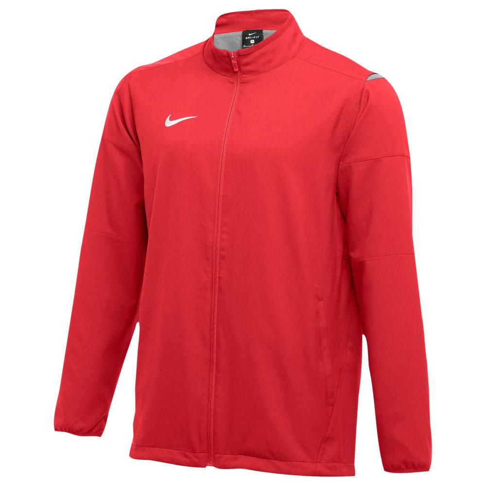 ナイキ Nike メンズ フィットネス・トレーニング ジャケット アウター【Team Dry Jacket】Scarlet/White