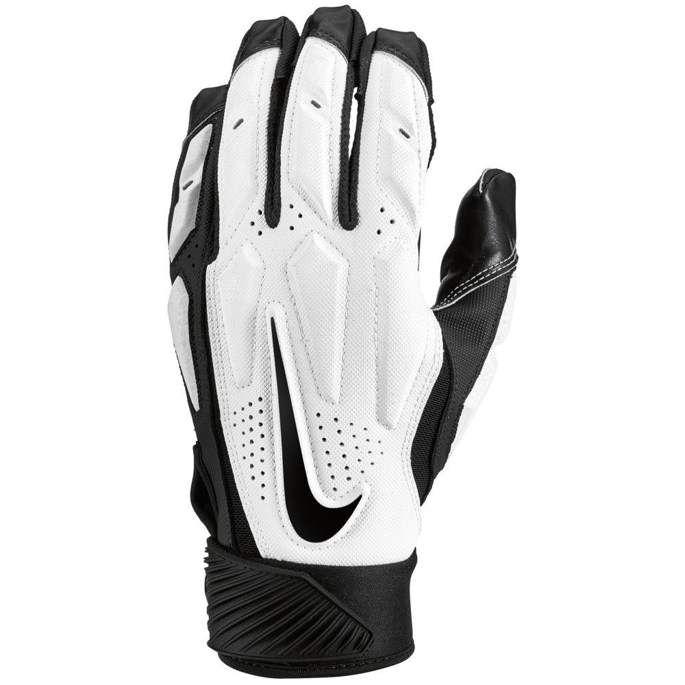 ナイキ Nike メンズ アメリカンフットボール ラインマングローブ グローブ【D-Tack 6 Lineman Gloves】White/Black
