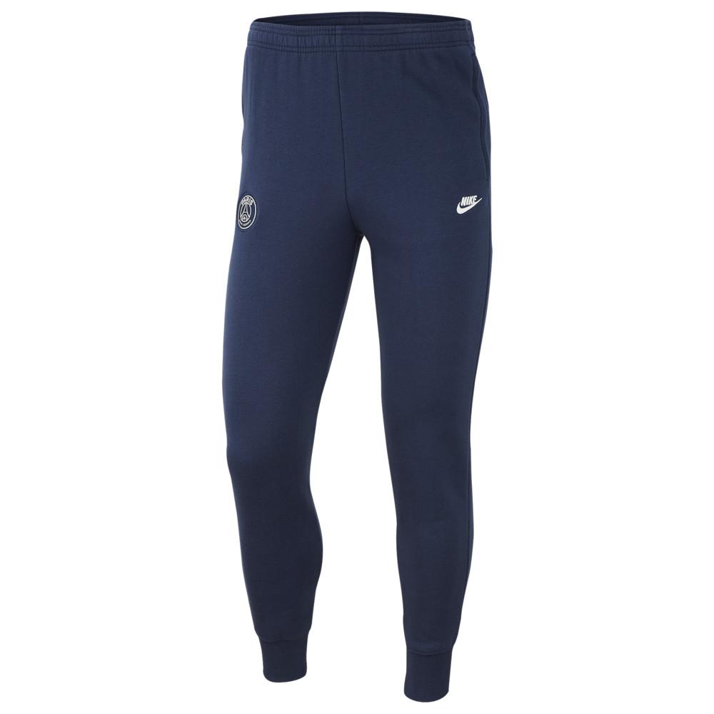 ナイキ Nike メンズ サッカー ボトムス・パンツ【Soccer Graphic Fleece Pants】Soccer International Clubs Paris Saint Germain Midnight Navy/White