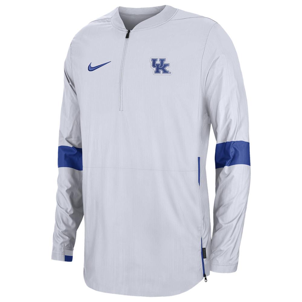 ナイキ Nike メンズ ジャケット アウター【College Lightweight Woven Sideline Jacket】NCAA Kentucky Wildcats White