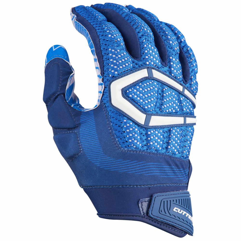 カッターズ Cutters メンズ アメリカンフットボール グローブ【Gamer 3.0 Padded Football Gloves】Royal
