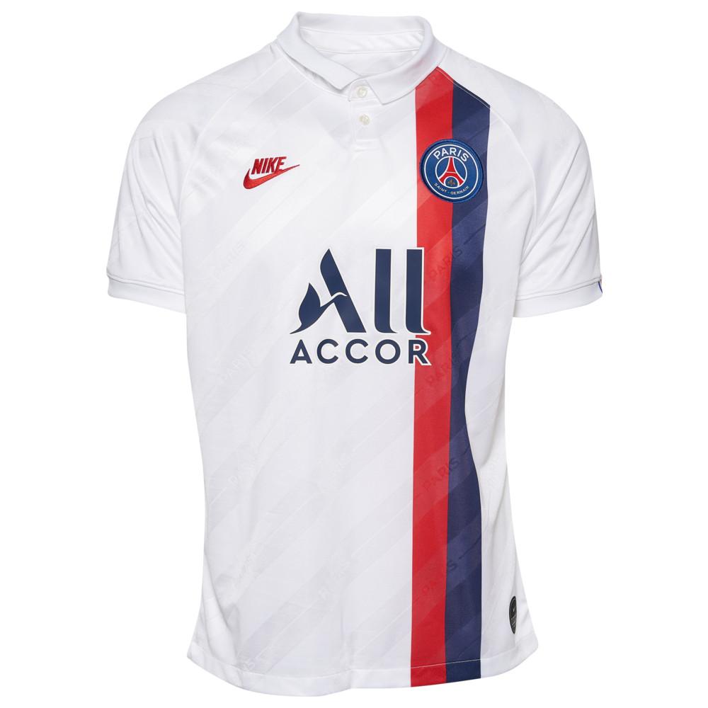 ナイキ Nike メンズ サッカー ユニフォーム トップス【Soccer Breathe Stadium Jersey】Soccer International Clubs Paris Saint Germain White/University Red Champions League