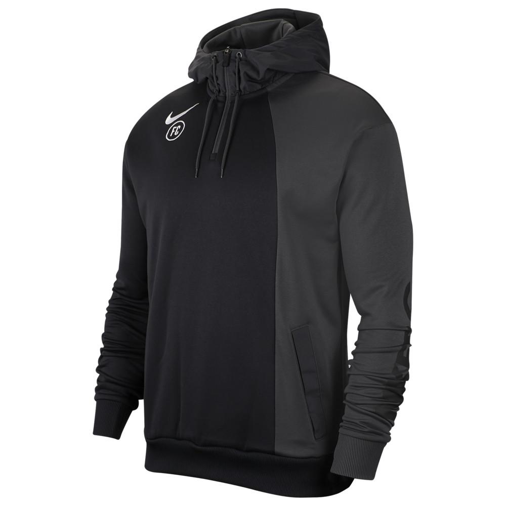 ナイキ Nike メンズ サッカー パーカー トップス【FC Hoodie】Anthracite/Black/White