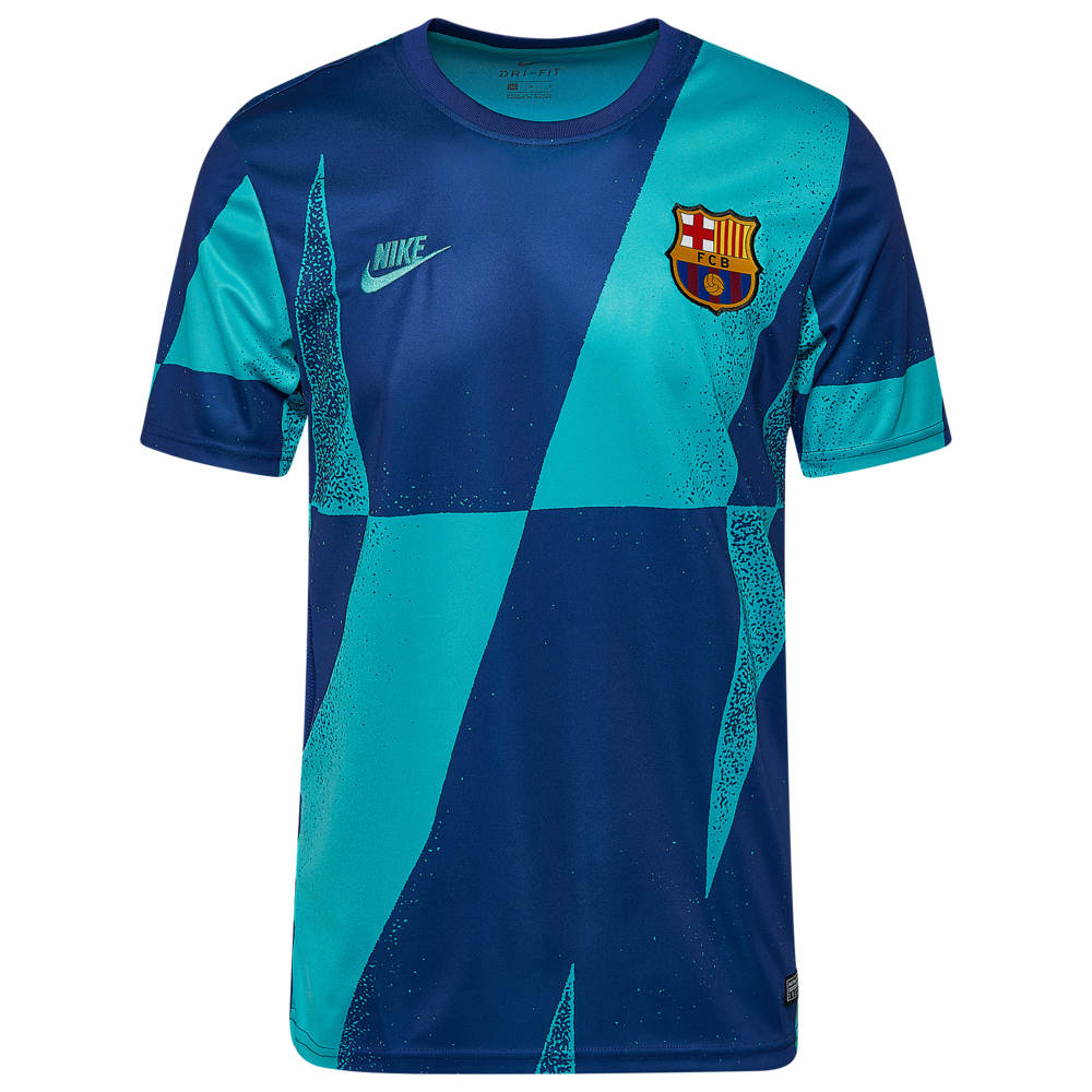 ナイキ Nike メンズ サッカー トップス【Soccer Dry S/S Top】Soccer International Clubs Barcelona Cabana/Deep Royal