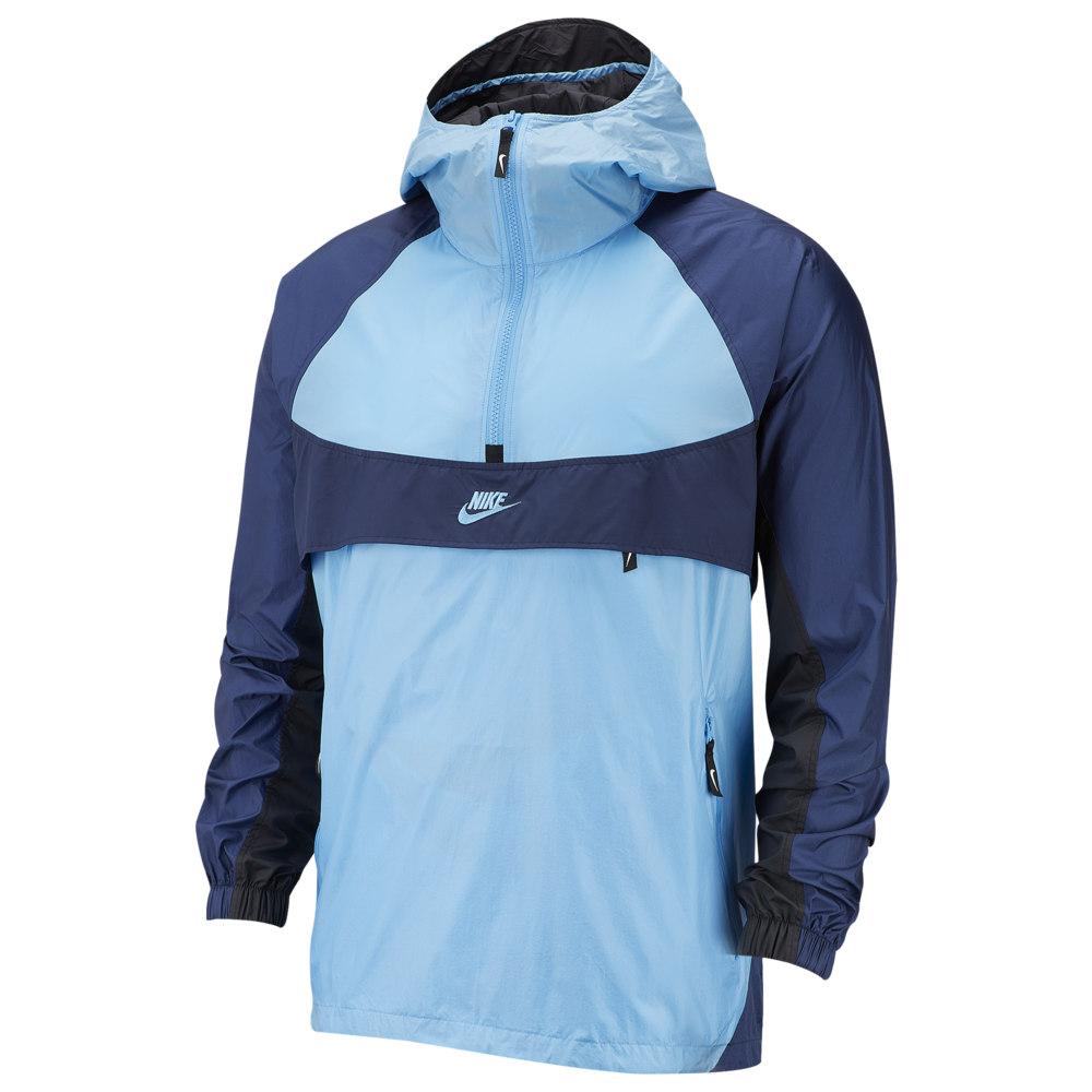 ナイキ Nike メンズ ジャケット フード アウター【Re-Issue Hooded Woven Jacket】University Blue/Midnight Navy/Black