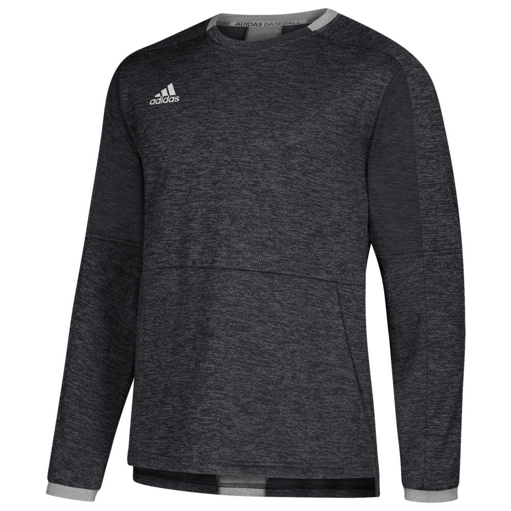 アディダス adidas メンズ 野球 トップス【Fielder's Choice 2.0 Fleece】Black/Core Heather