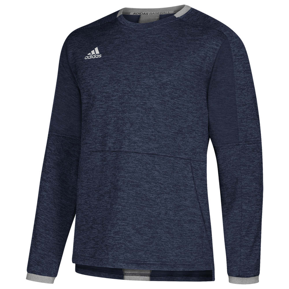 アディダス adidas メンズ 野球 トップス【Fielder's Choice 2.0 Fleece】Collegiate Navy/Core Heather