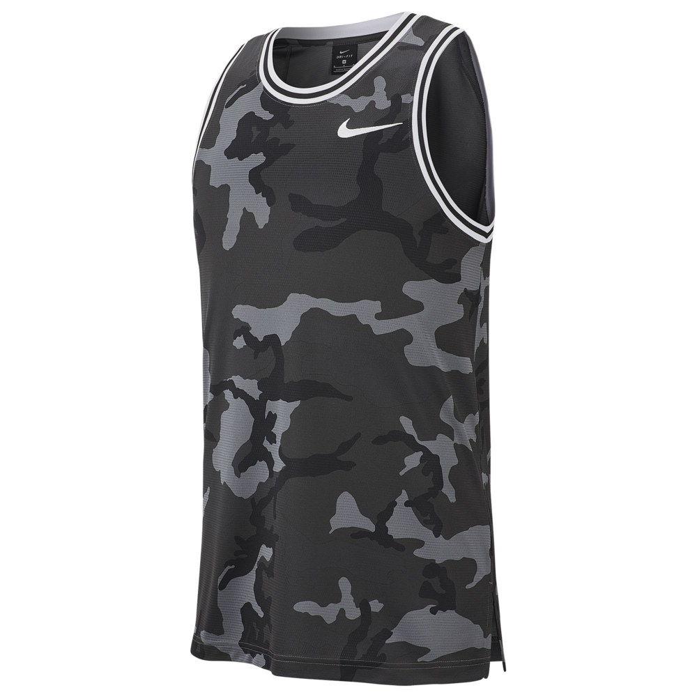 ナイキ Nike メンズ バスケットボール トップス【DNA Camo Jersey】Dark Grey/White