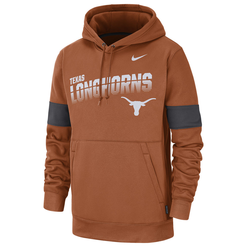 ナイキ Nike メンズ パーカー トップス【College Therma Pullover Hoodie】NCAA Texas Longhorns Desert Orange