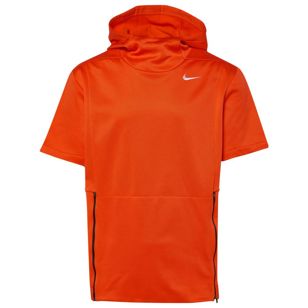 ナイキ Nike メンズ フィットネス・トレーニング トップス【Team Authentic Therma S/S Top】Team Orange/Black/White