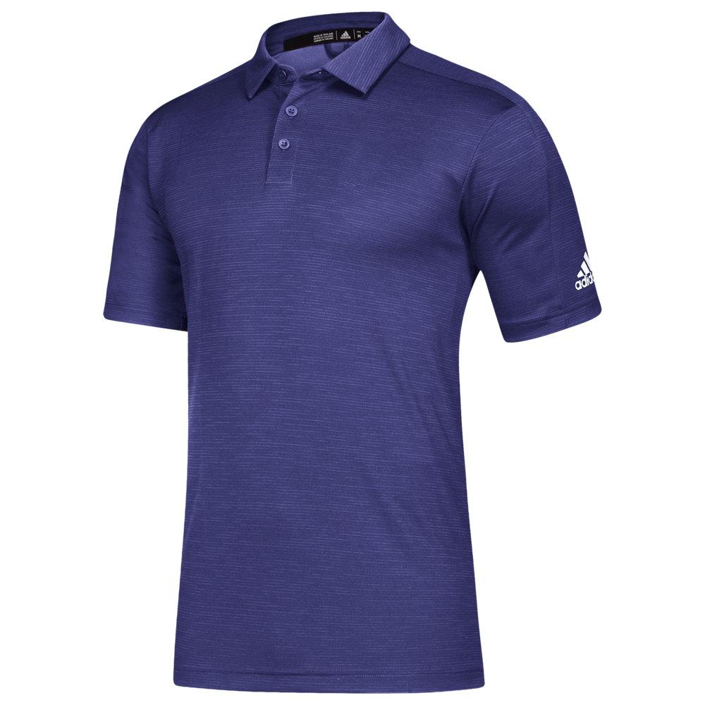 アディダス adidas メンズ フィットネス・トレーニング トップス【Team Game Mode Polo】Collegiate Purple Melange/White